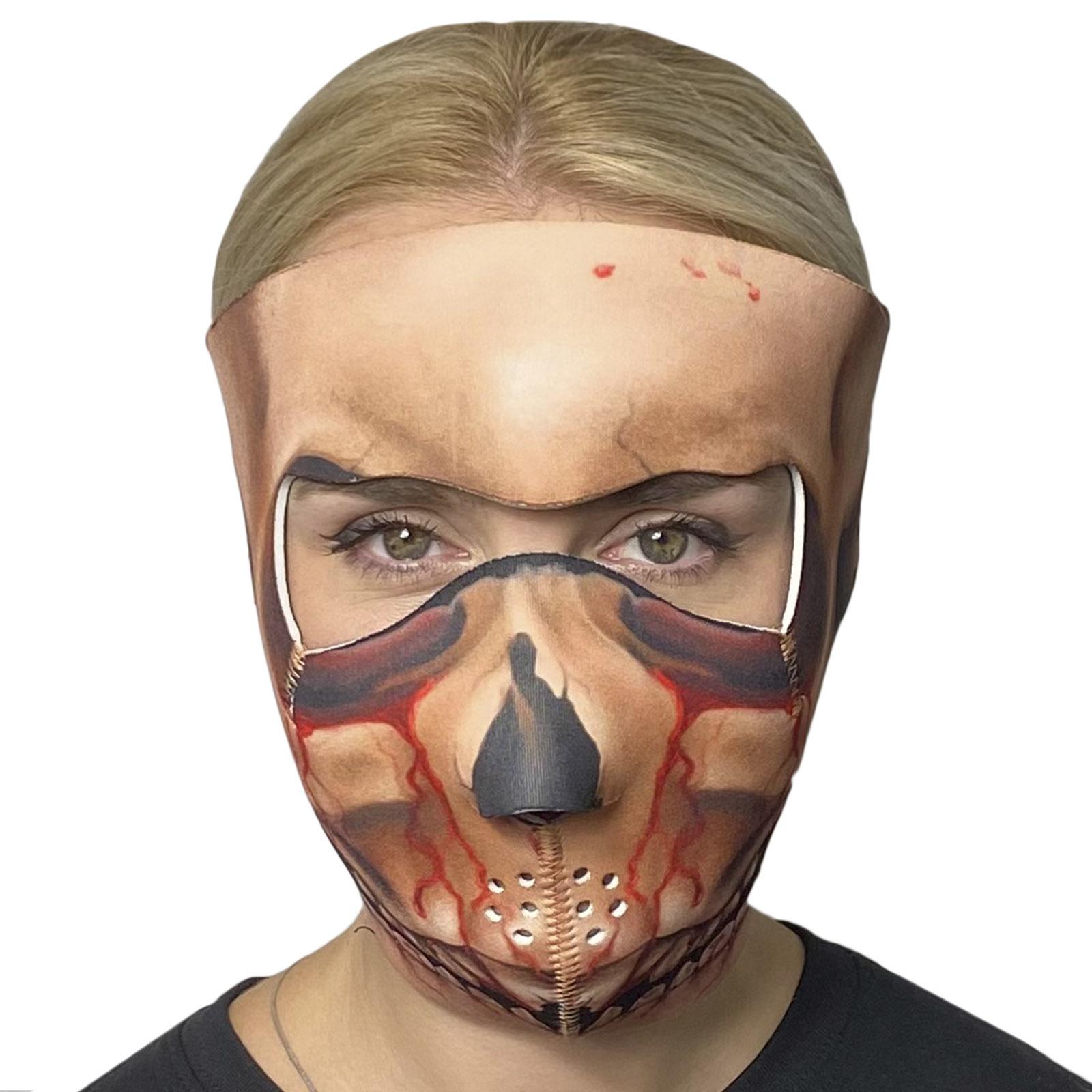 Неопреновая полнолицевая антивирусная маска Wild Wear Dark Lord