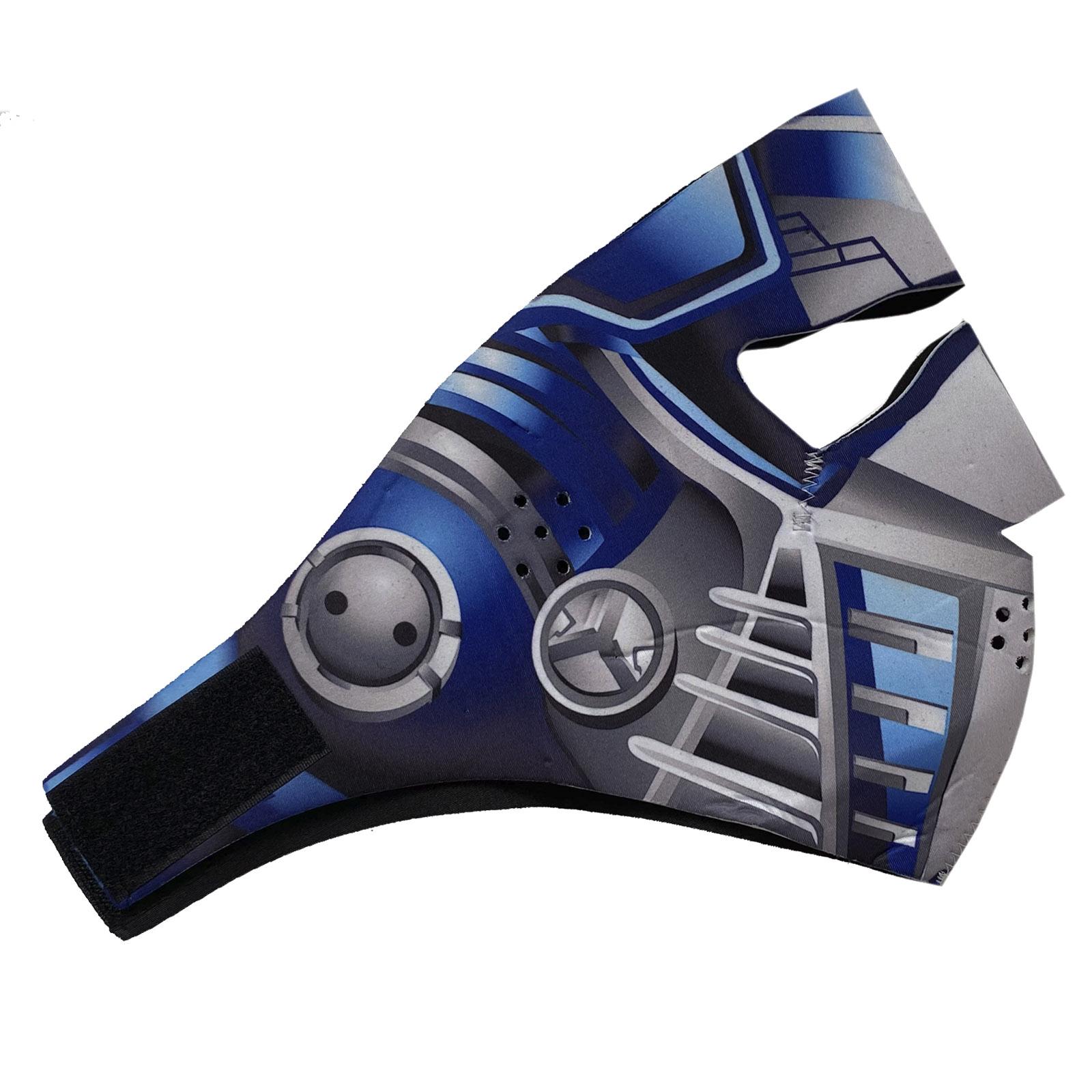 Неопреновая полнолицевая маска с защитой от ковида Wild Wear Cyber Predator