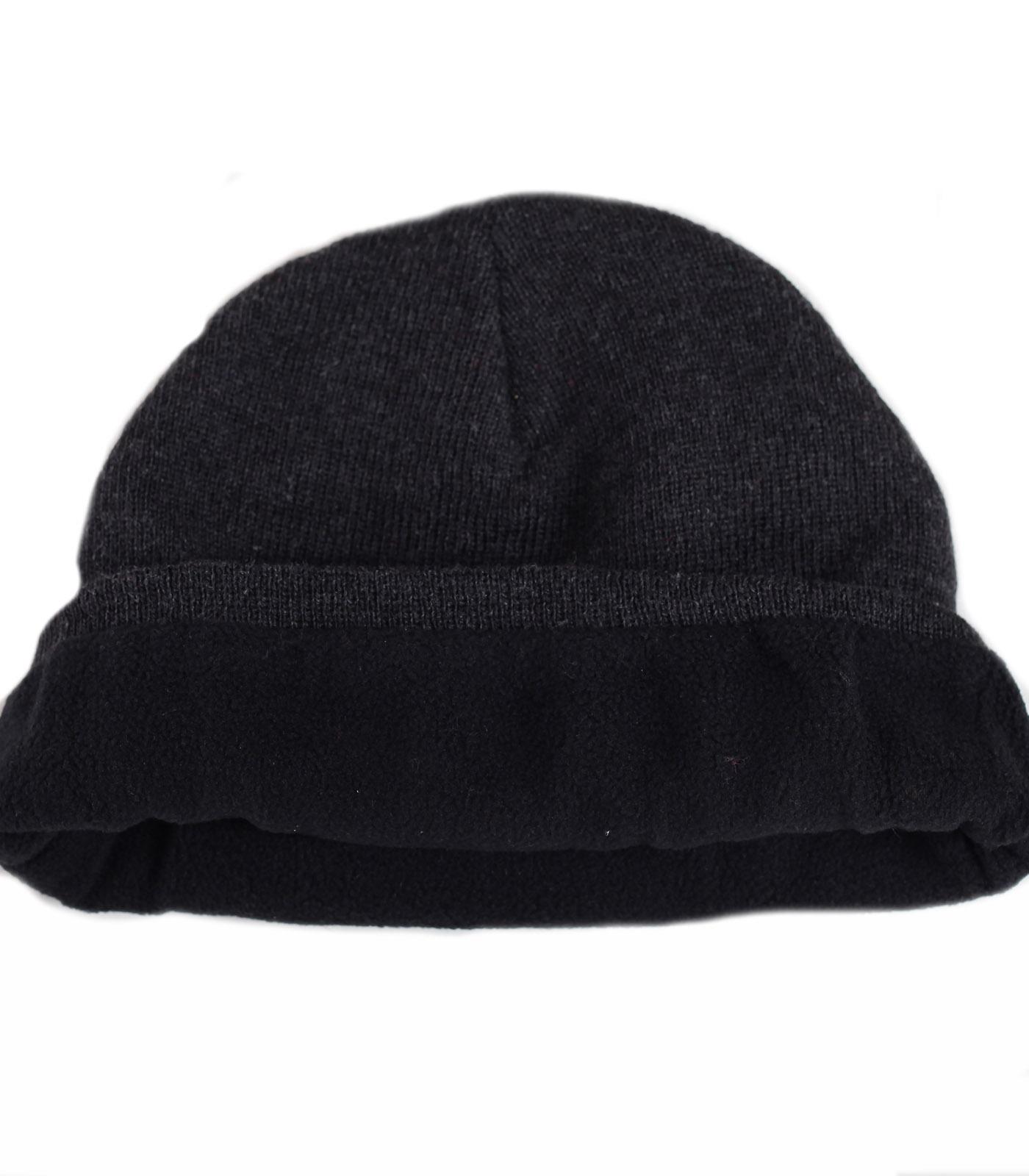 Заказать неприхотливую зимнюю мужскую шапку с лаконичной вышивкой с флисом по низкой цене
