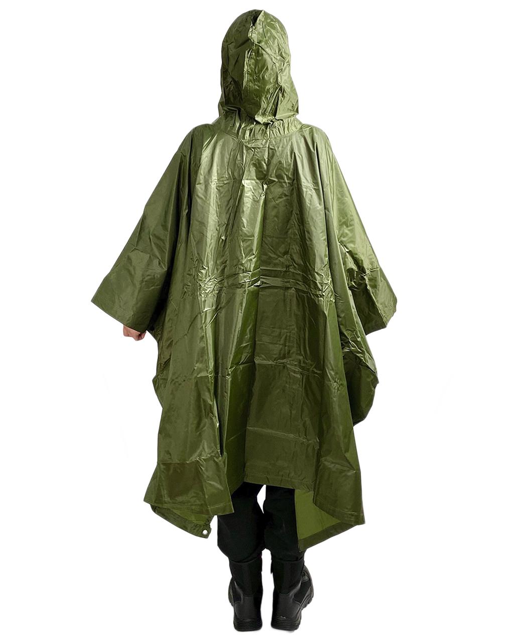 Непромокаемый дождевик оливковый - в Военпро