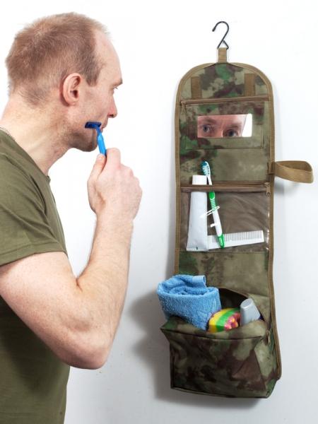 Несессер с вышивкой Россия МВД.