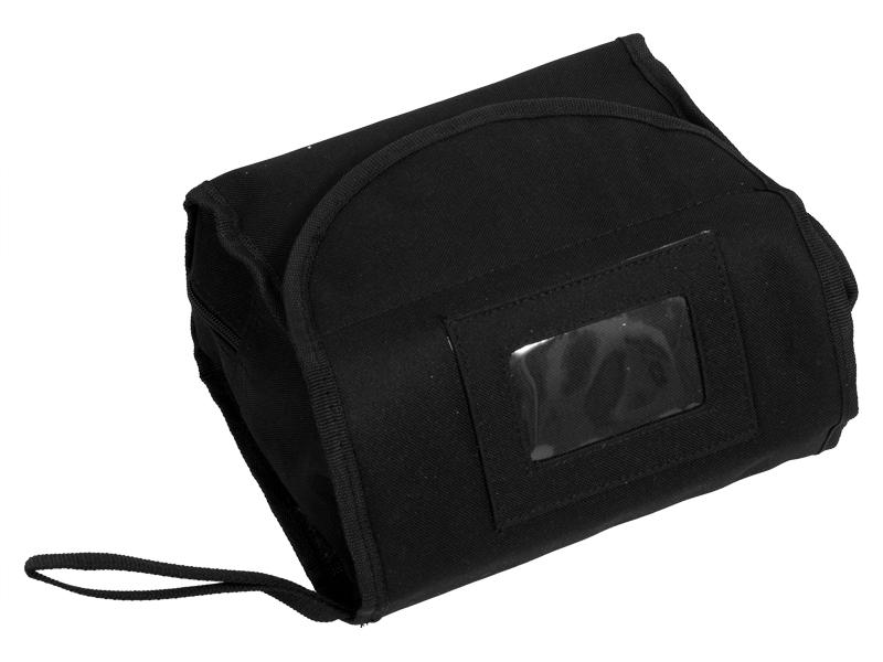Несессер для военнослужащего черный камуфляж