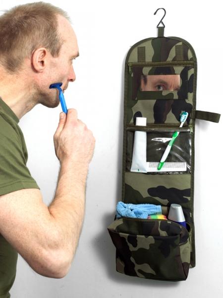 Несессер с вышивкой Пограничная служба.