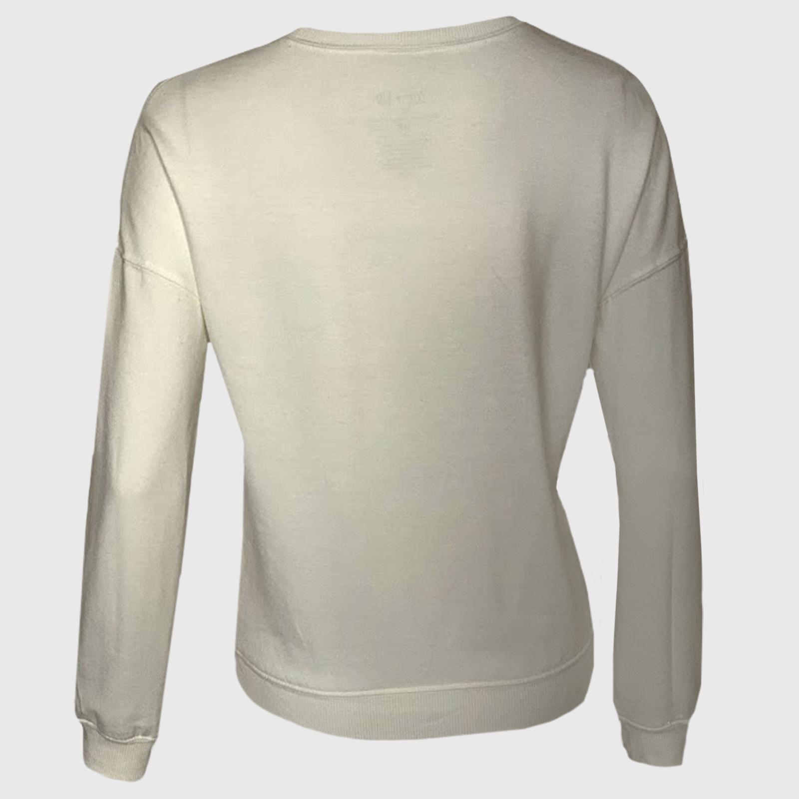 Купить в интернет магазине женскую кофточку реглан с принтом на груди