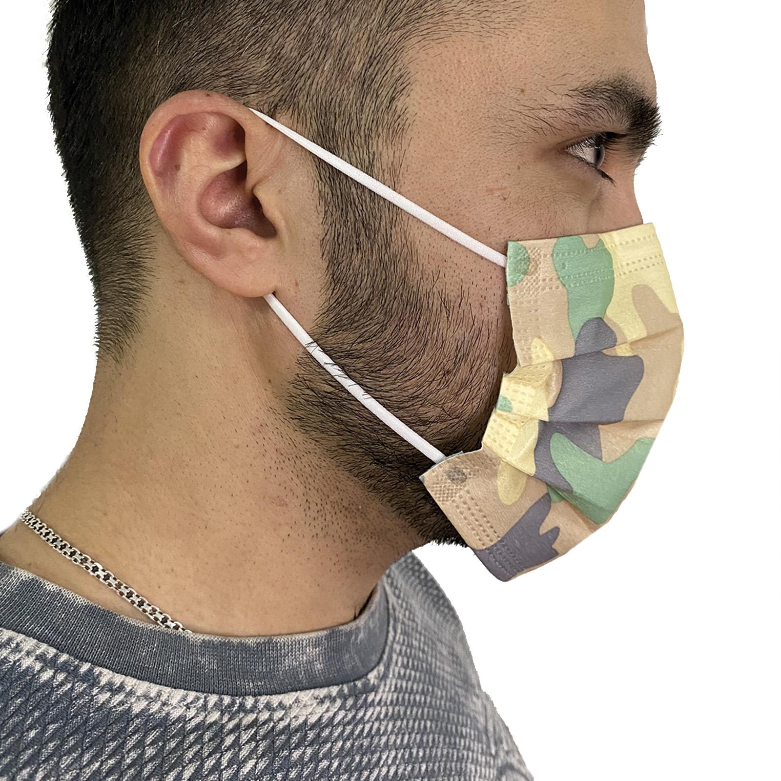 Нетканая медицинская маска