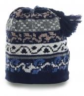 Невероятно теплая шапка на флисе. Отличный вариант для активного отдыха и спорта в холодное время года. Красотки, налетай!