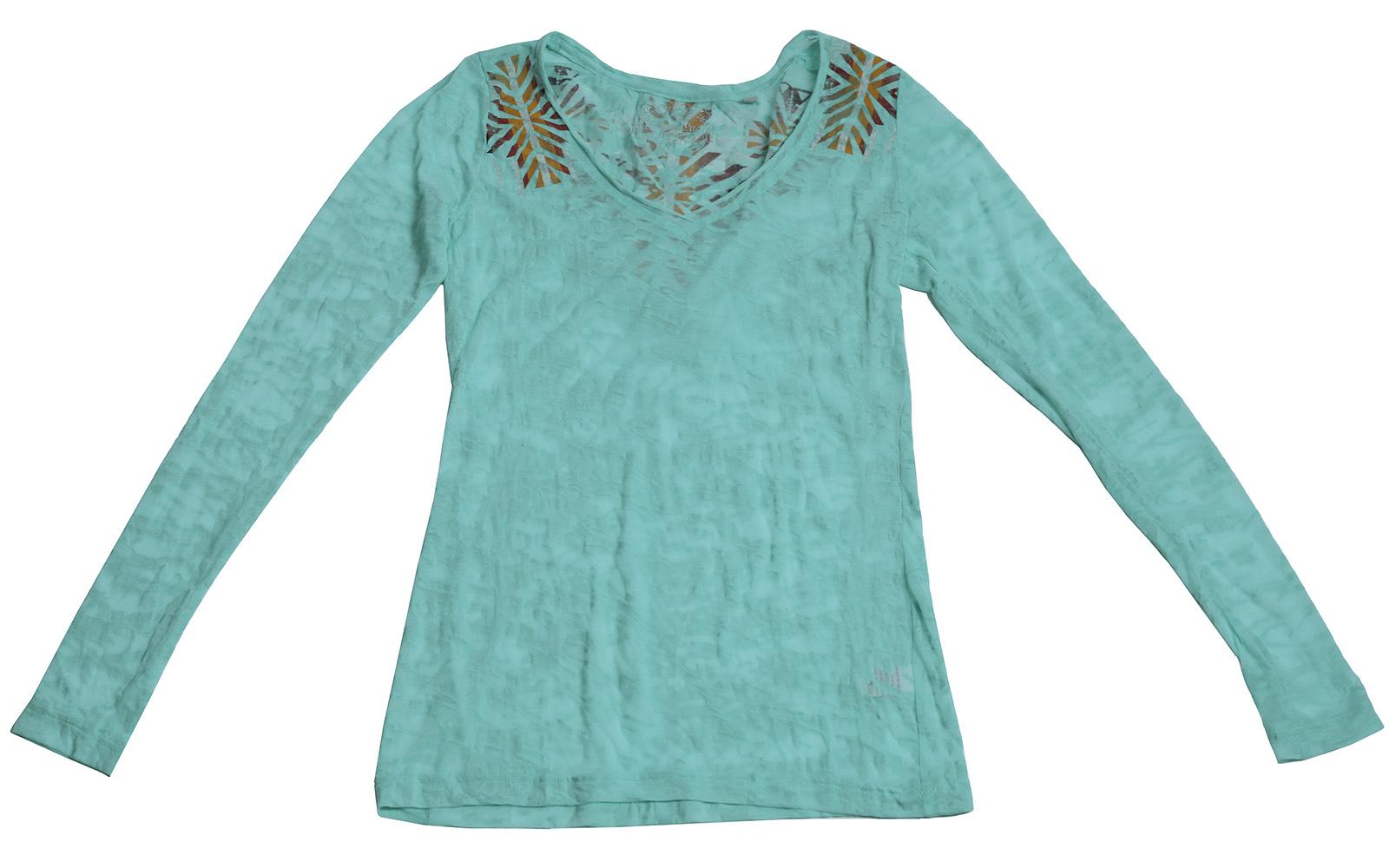 Нежная кофточка бирюзового цвета - для тех, кто ценит стиль и качество