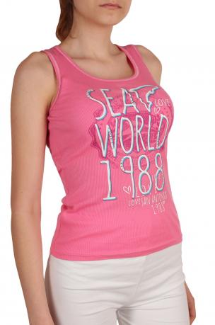 Нежная маечка от Sea World® (США) - вид сбоку