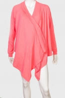 Нежно-розовый кардиган для романтичных дам
