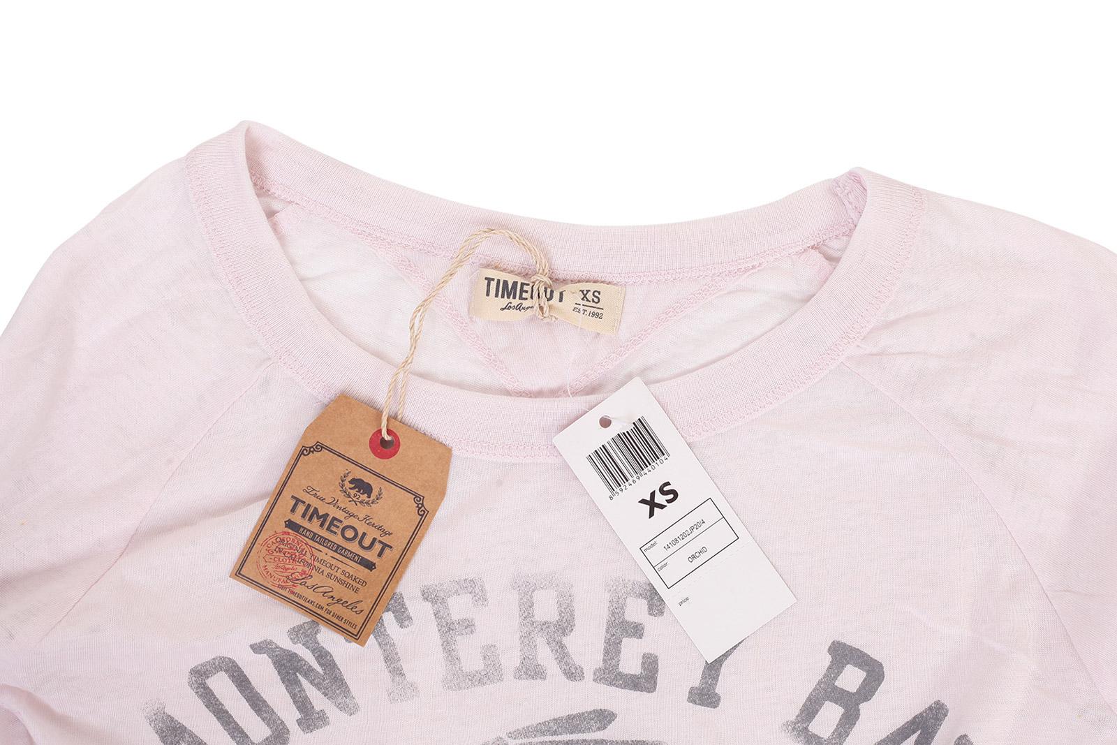 Нежно-розовый женский пуловер TimeOut