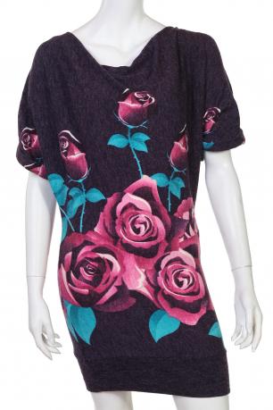 Нежное романтичное платье с розами