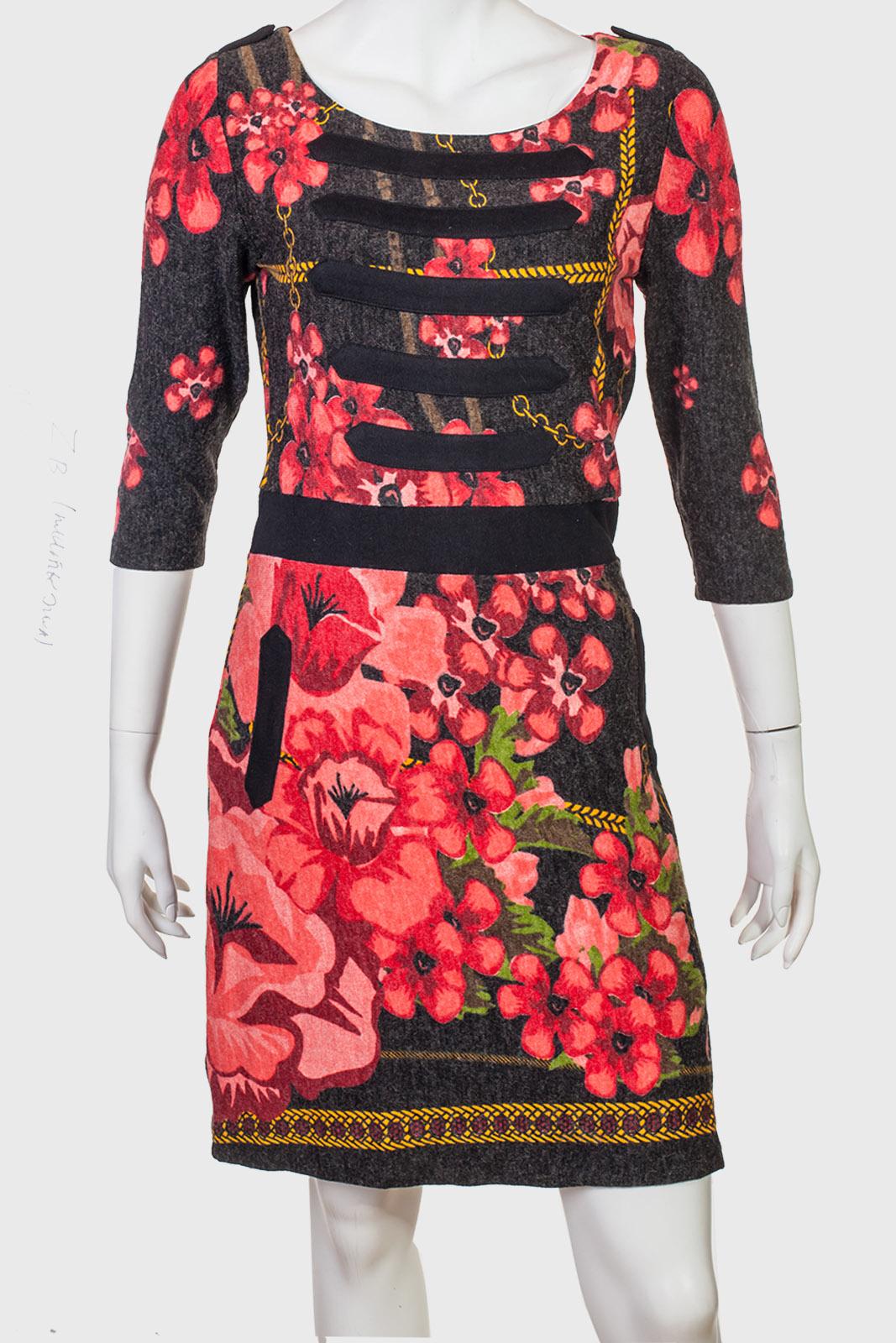Нежное теплое платье от ZB.