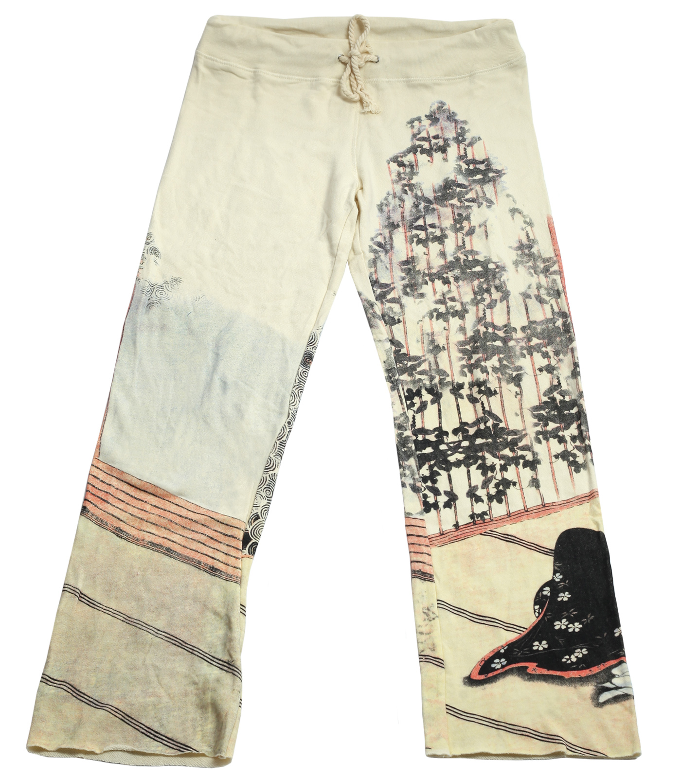Нежные штаны бренда Paparazzi с принтом в восточном стиле
