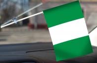 Нигерийский флажок с присоской