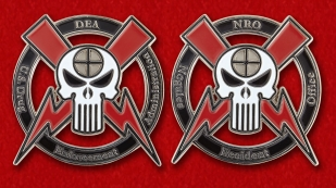 DEA Nogales Resident Office Challenge Coin - obverse and reverse