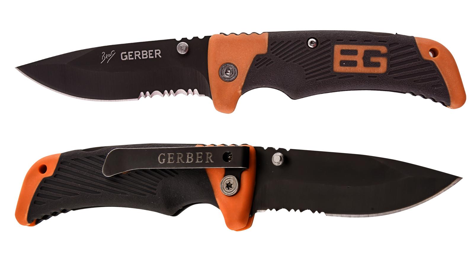 Нож выживальщика Gerber Bear Grylls Scout