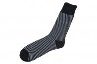 Повседневные мужские носки в полосочку.