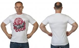 Ностальгическая мужская футболка для рождённых в СССР от Военпро