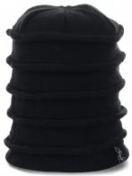 Новинка в стиле хипстер шапка-пагода удлиненного варианта на флисе