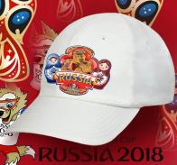 Новомодная хлопковая бейсболка с колоритным принтом Russia «Матрешки с Медведем» четко русский сувенир. Единственная в своем роде, причем по лучшей цене