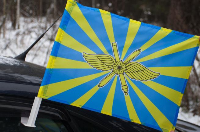 Новый флаг ВКС на машину