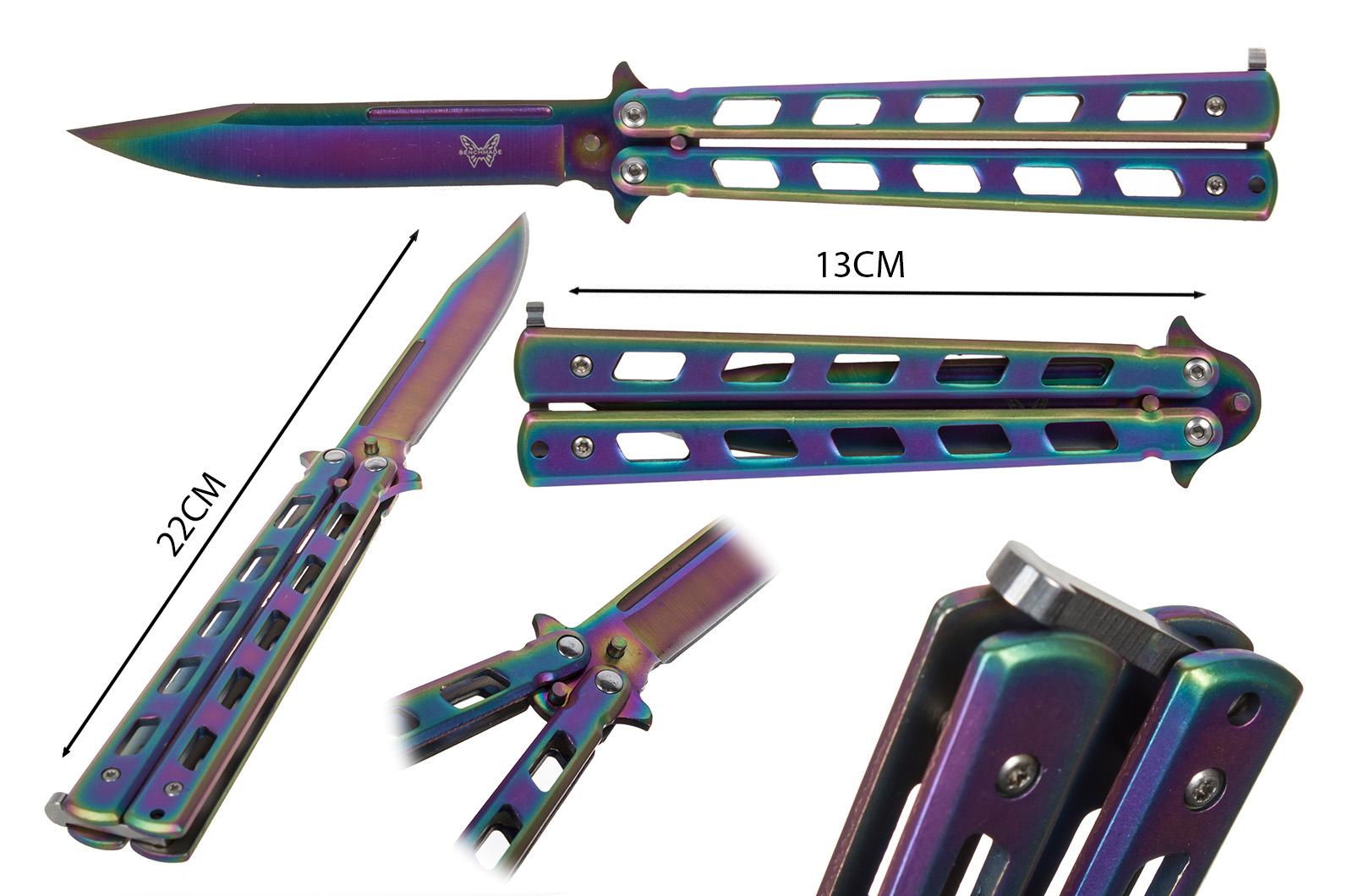 Нож бабочка Benchmade - размер