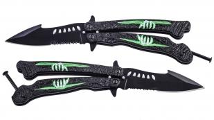 Нож-бабочка Martinez Albainox® Mad Zombie Butterfly (Испания) по выгодной цене