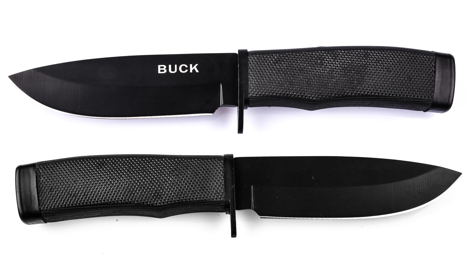 Внешний вид ножа Buck с фиксированным клинком