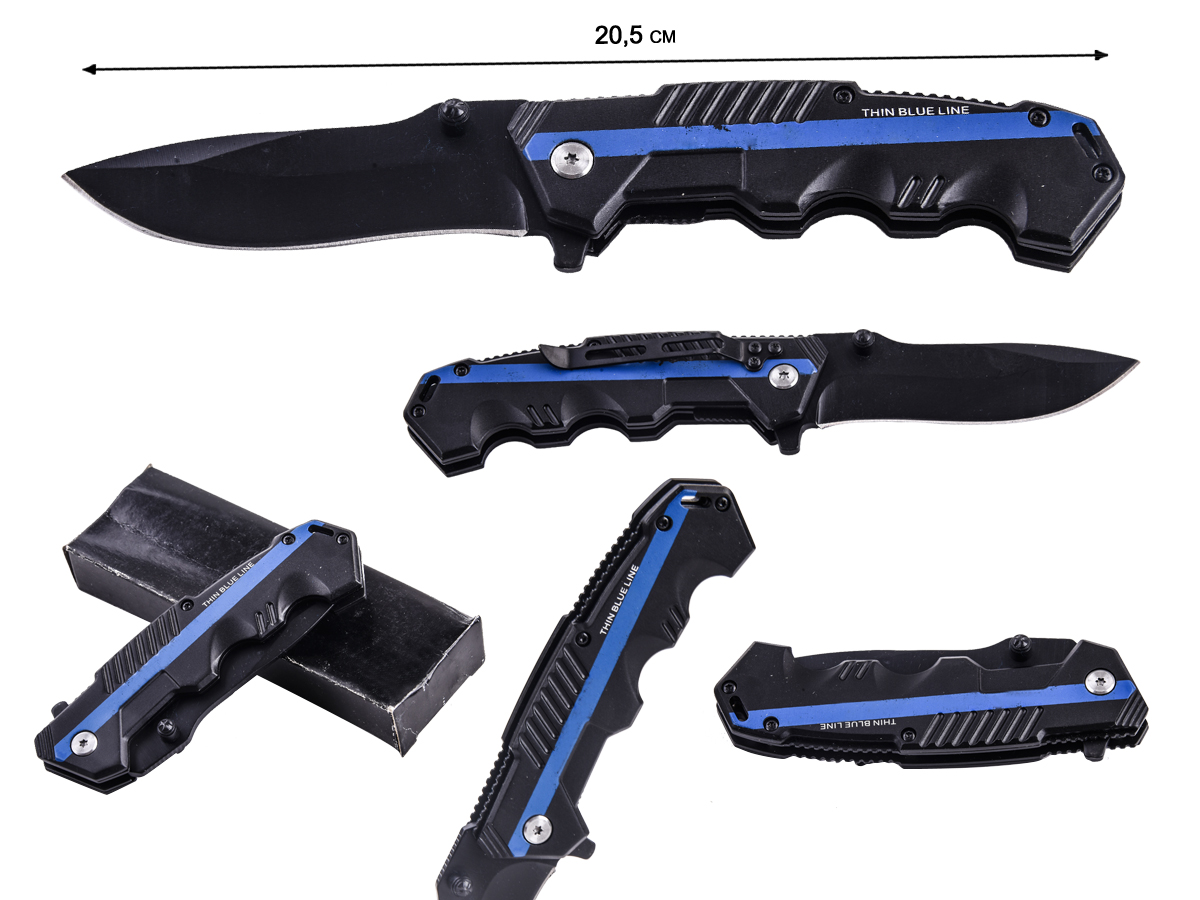 Нож Cold Steel HY217 Thin Blue Line