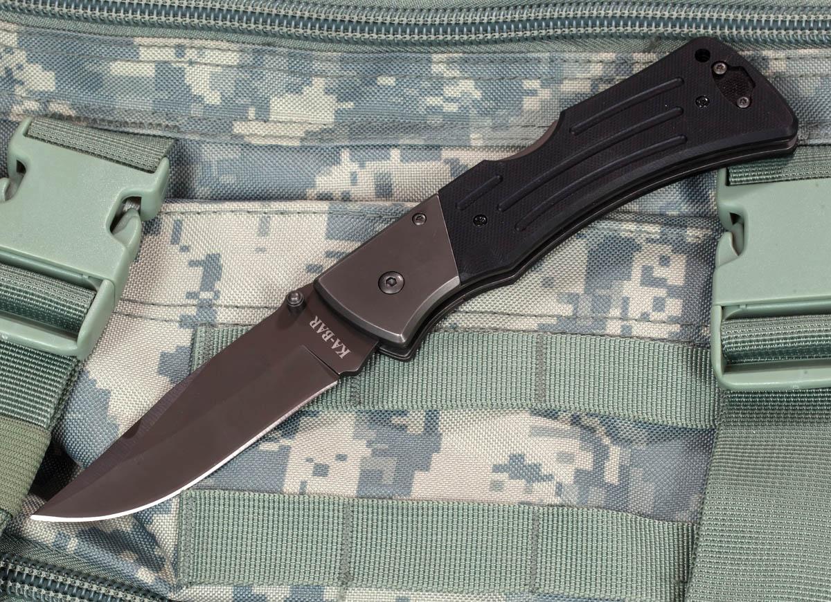 Нож Ka-Bar G10 Mule 3050 Folder Straight (Тайвань)