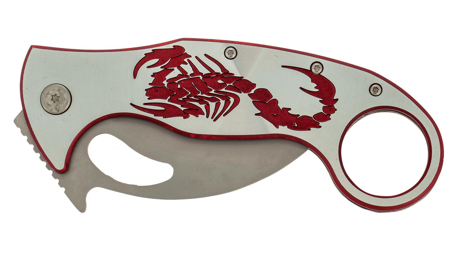 Нож-керамбит Frost USA Red Scorpio (США) - купить по выгодной цене