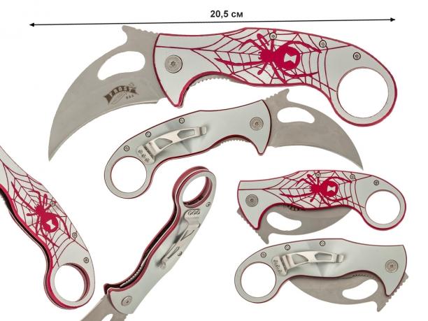 Нож-керамбит Frost USA Red Spider (США) - купить онлайн