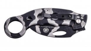 Нож-керамбит Smith & Wesson Knives 32C Karambit Framelock (США) отменного качества