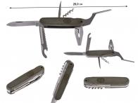 Нож-мультитул с плоскогубцами Mil-Tec Bundeswehr BW Taschentool Zange (Германия) - купить по низкой цене