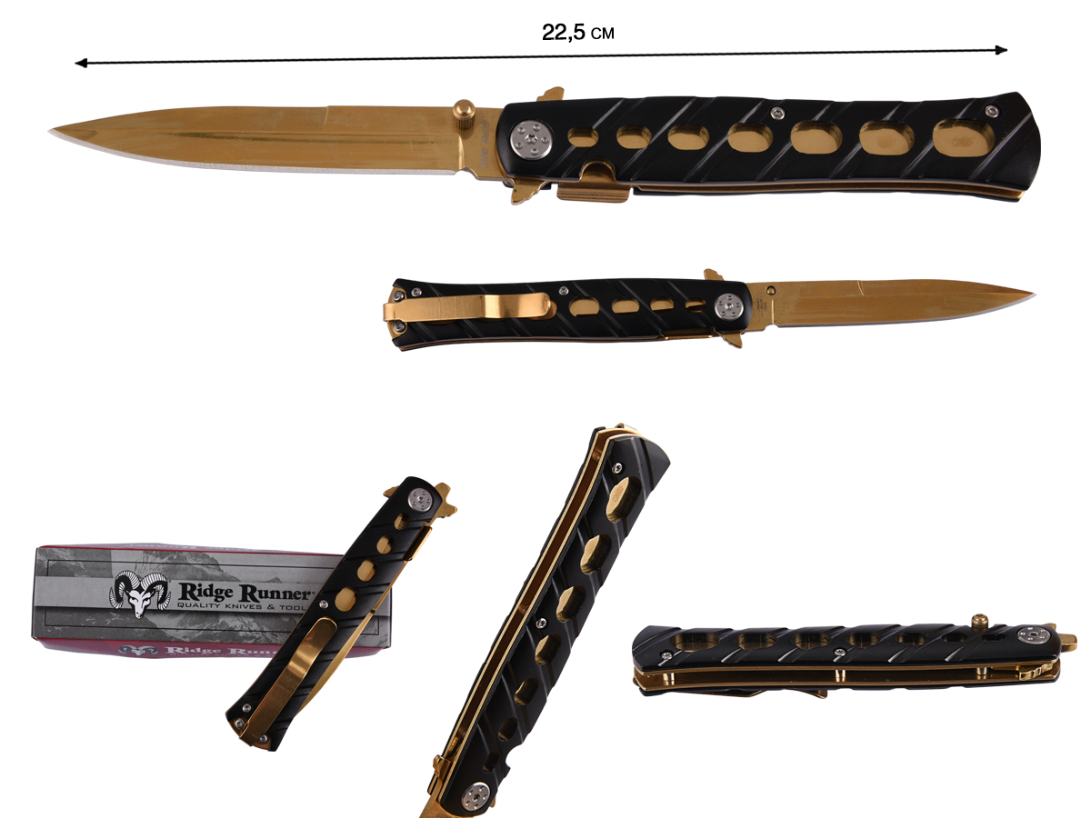 Нож Ridge Runner 26S Stiletto Knife