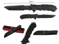 Нож с фиксированным клинком MTech Extreme Tanto Alpha Black Knife