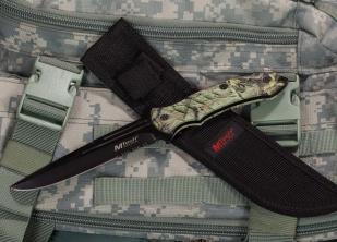 Нож с фиксированным клинком MTech Realtree Camo - заказать с доставкой