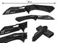 Тактический нож с гравировкой ВДВ
