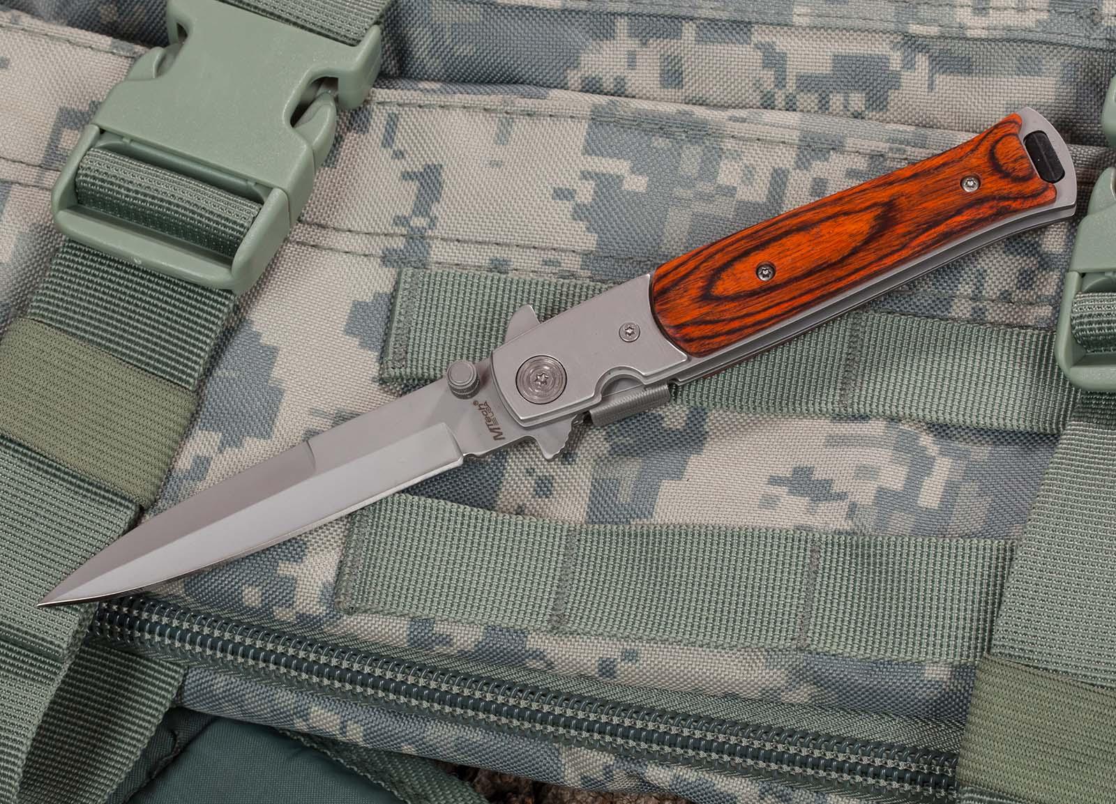 Нож с выкидным клинком MTech USA Stiletto