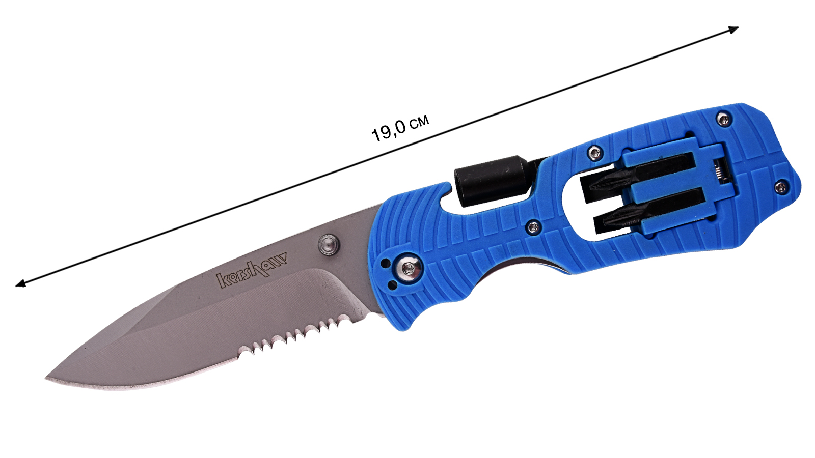 Нож складной Kershaw - общая длина