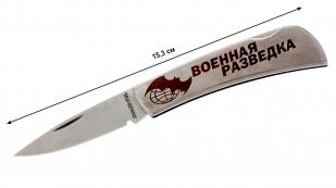 Складной нож военного разведчика