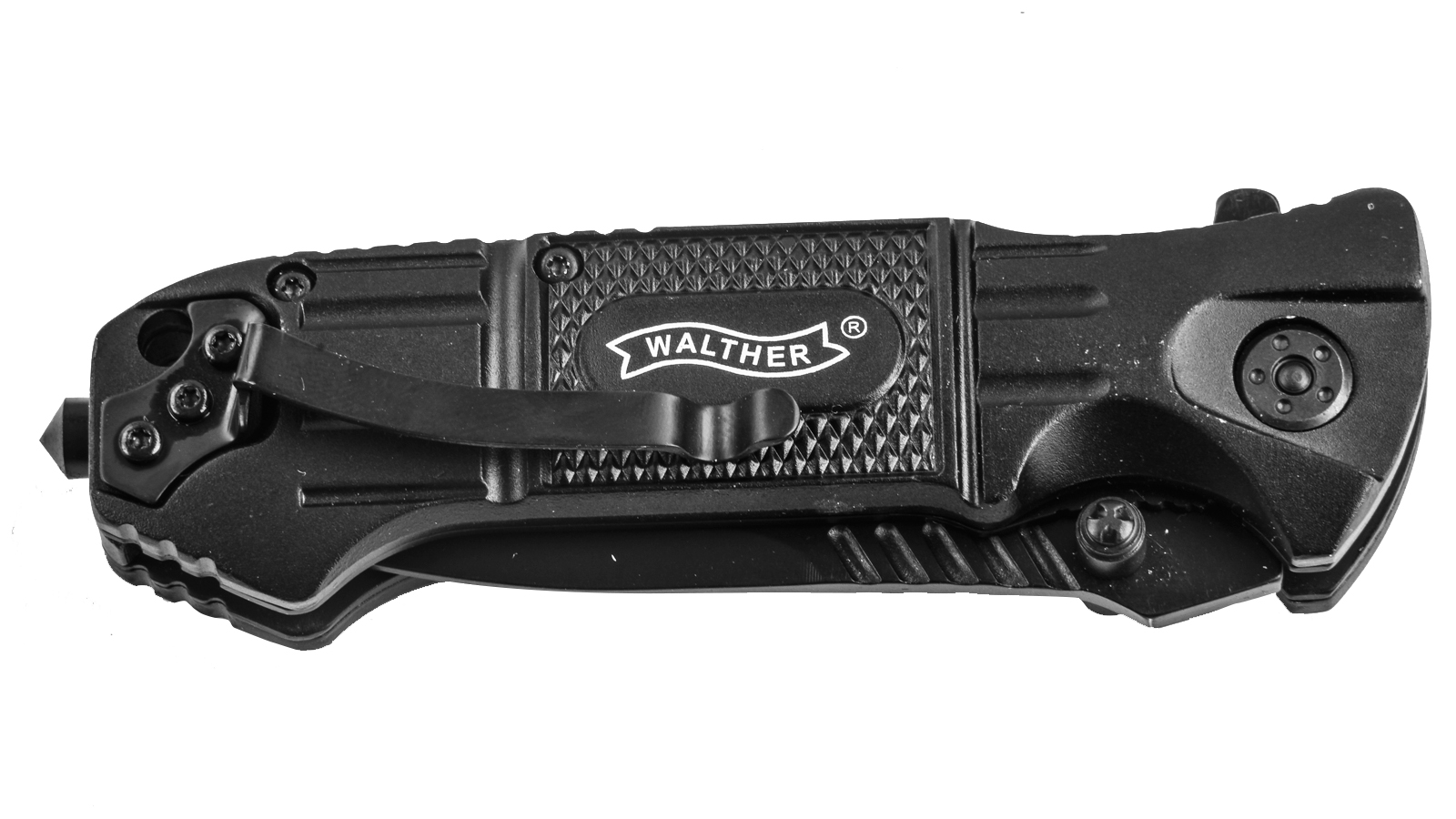 Нож Walther Black Tac Lock Knife 440SS от Военпро