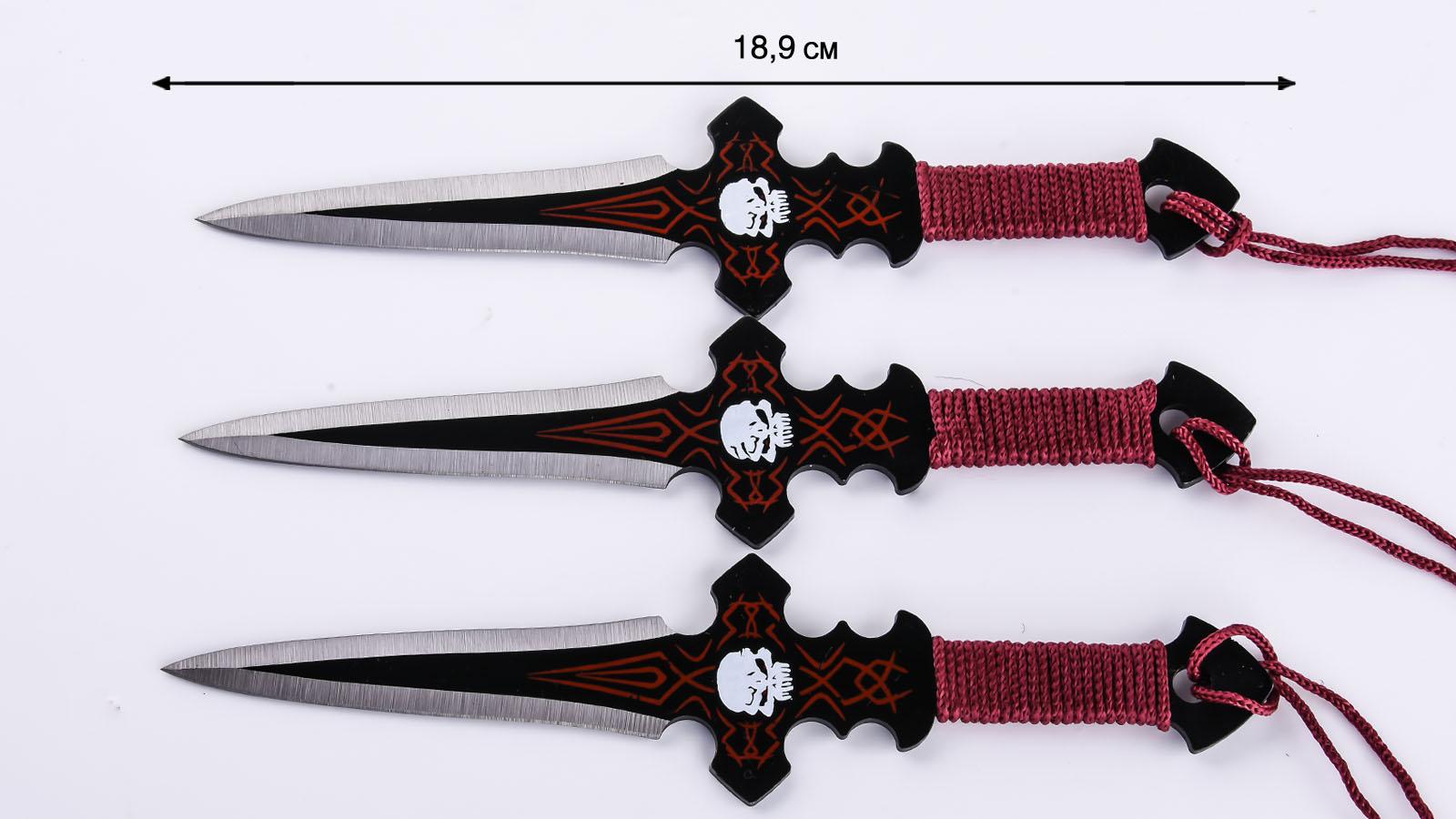 Метательные ножи Каратель