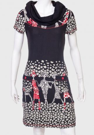 Облегающее черное платье от Le Grenier
