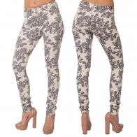 Flower trend! Женские силуэтно-облегающие джинсы VILA.