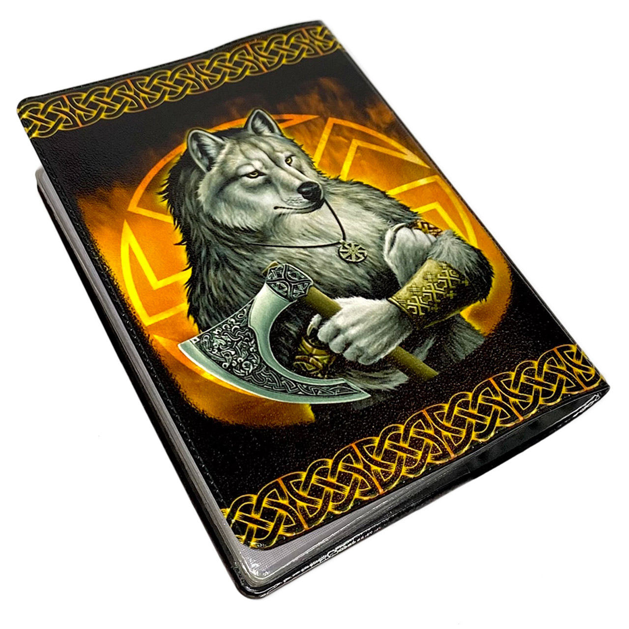 Обложка на паспорт Волк Коловрат