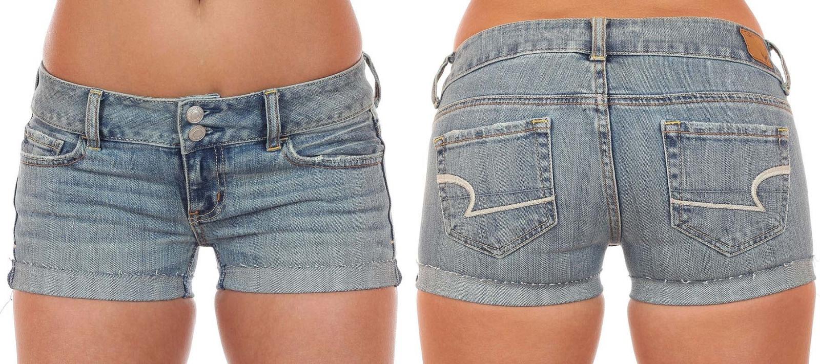 Обольстительные джинсовые шорты с доставкой