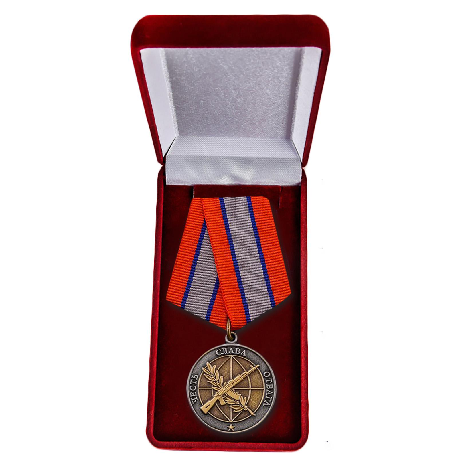 """Общественная медаль """"Ветеран боевых действий"""" купить в Военпро"""