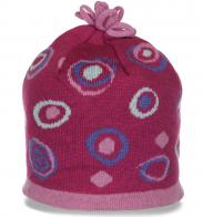 Обворожительная нарядная женская зимняя шапка гарантированный уют и качество на флисе