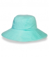 Очаровательная лазурная шляпа